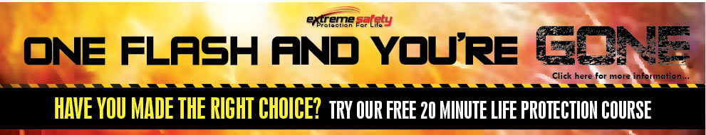 Extreme Safety Arc Flash Training Banner